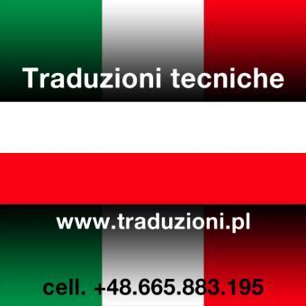 Polacco traduzioni tecniche in Polonia